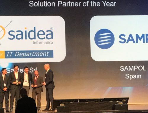 "(Español) SAMPOL, elegido ""Solution Partner of the Year"" en el evento HUAWEI Europe Partner Summit 2018."